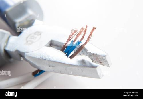 small resolution of electrical equiptment for the home including pliers and wiring blue neutral and brown live wires diy