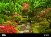 Tea Garden path, Portland Japanese Garden, Washington Park ...