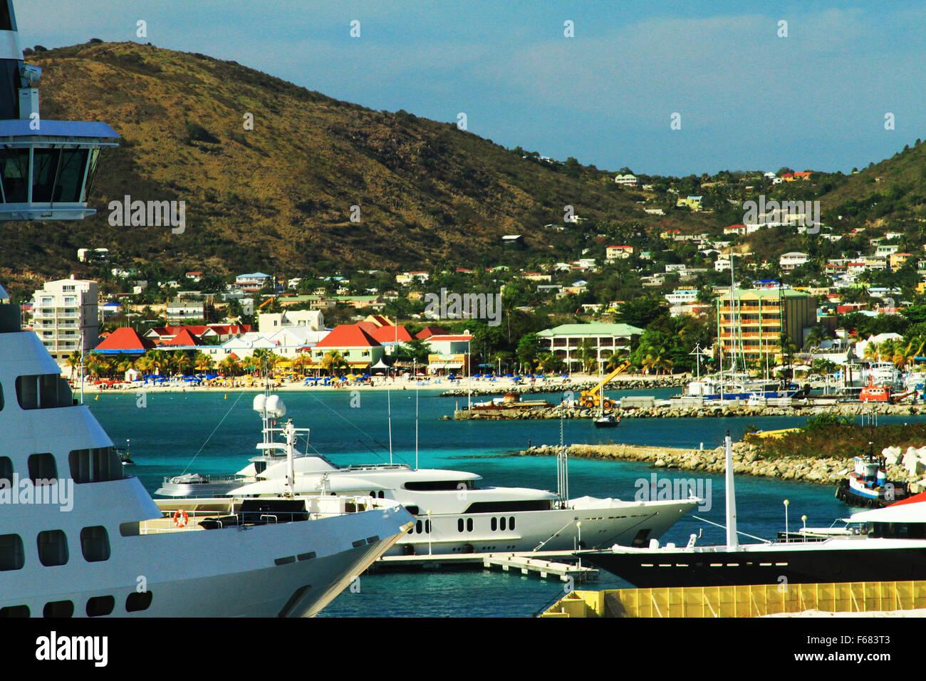 st martin cruise port