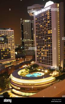 Pan Pacific Hotel In Singapore. Modern Five-star