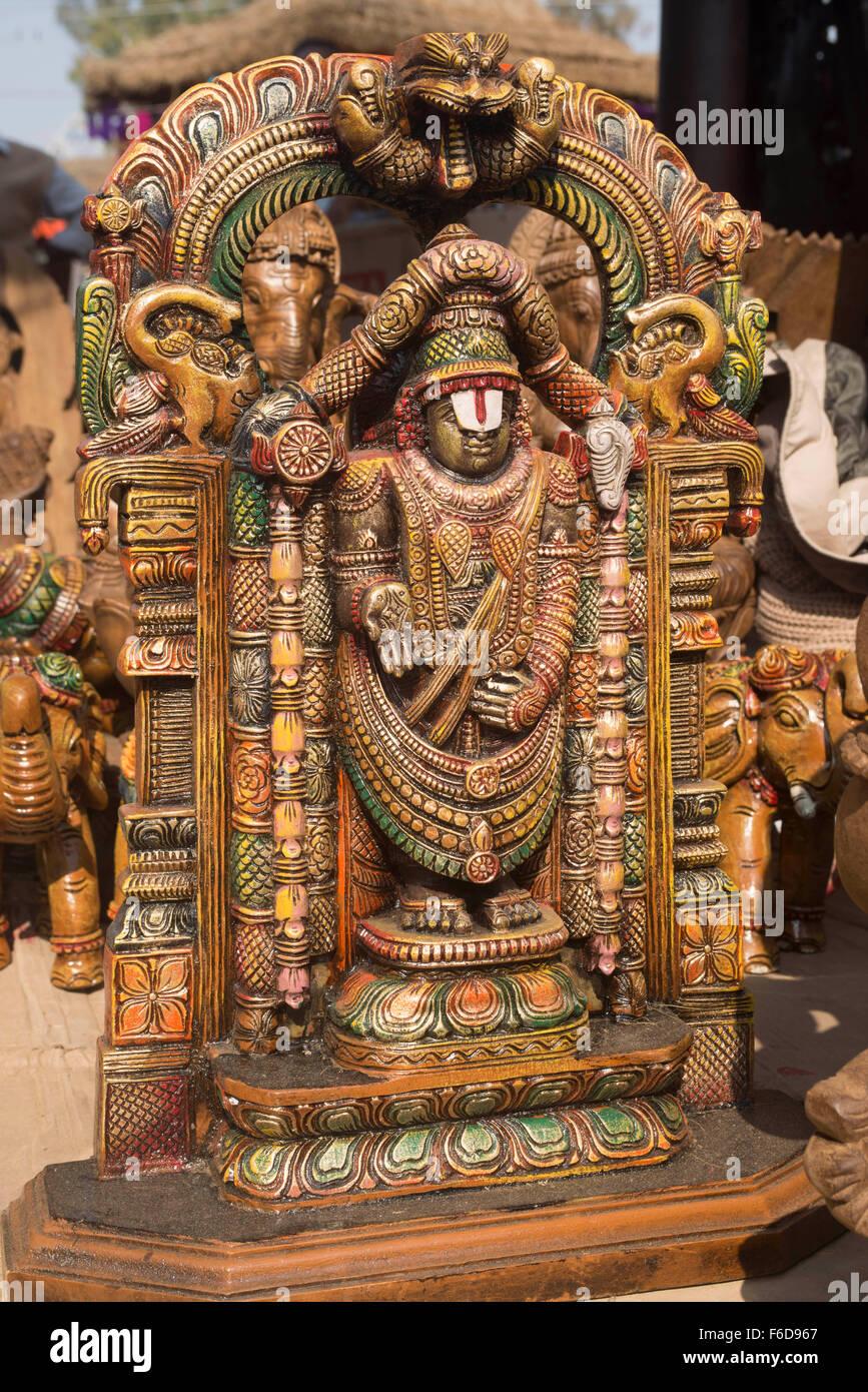 Idol of lord venkatesh balaji surajkund mela faridabad