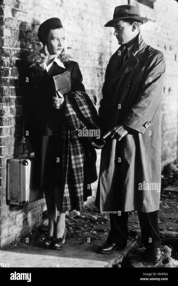 1942 Film Title Gun Hire Director Frank Tuttle Studio Stock Royalty Free