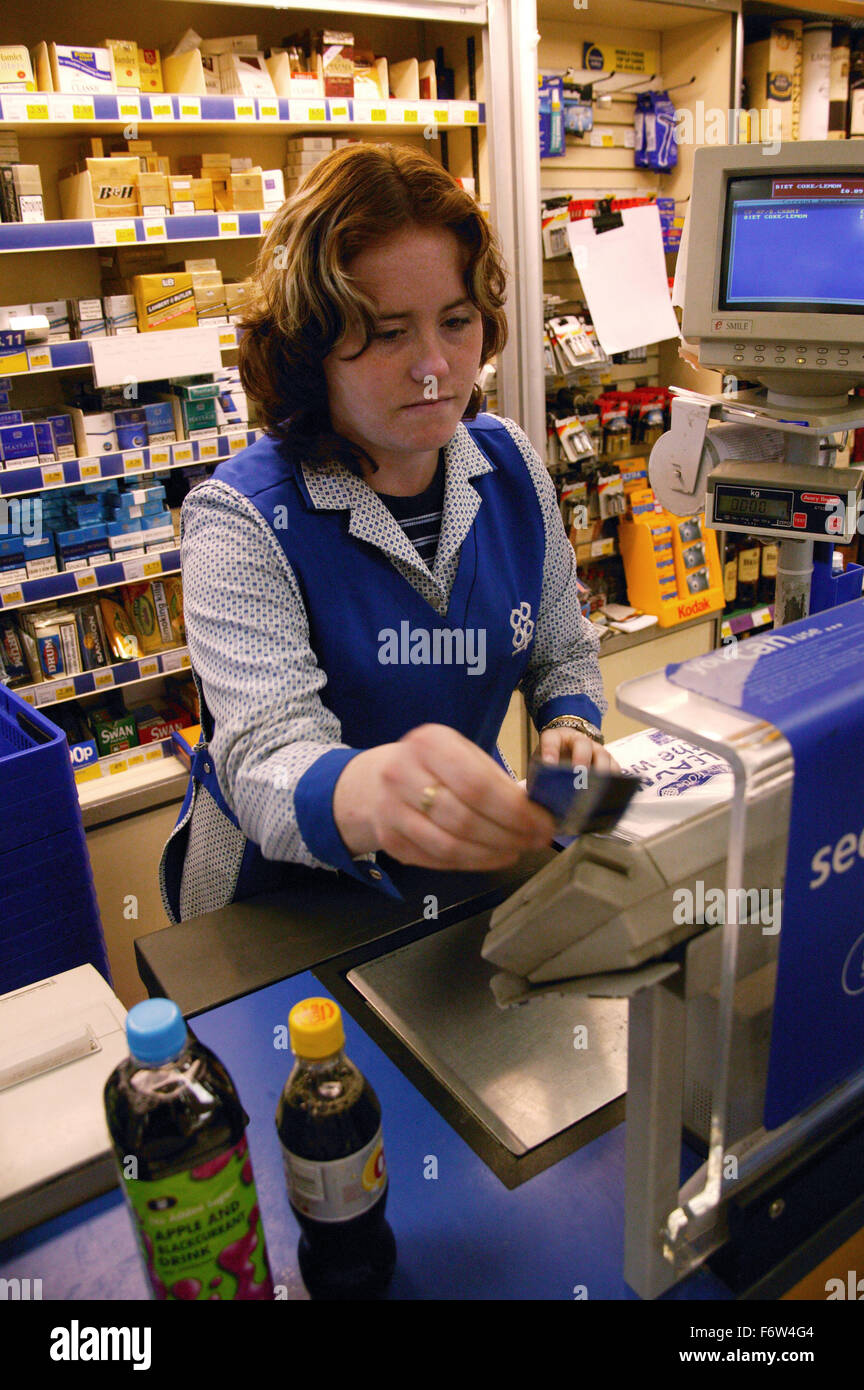 Shop Assistant Swiping Credit Card Stock Photos  Shop Assistant Swiping Credit Card Stock