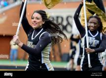 Wake Forest Football Game Cheerleaders