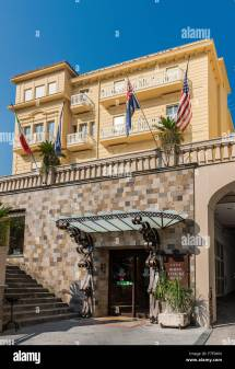 Sorrento Italy Hotels Stock &