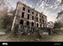 Derelict And Abandoned Grand Hotel Vizzavona In Corsica