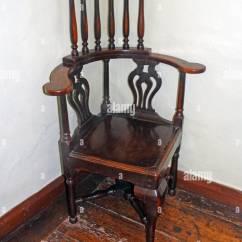Wooden Corner Chair Office Vs Gaming Jacobean Child S 17th Century English Stock