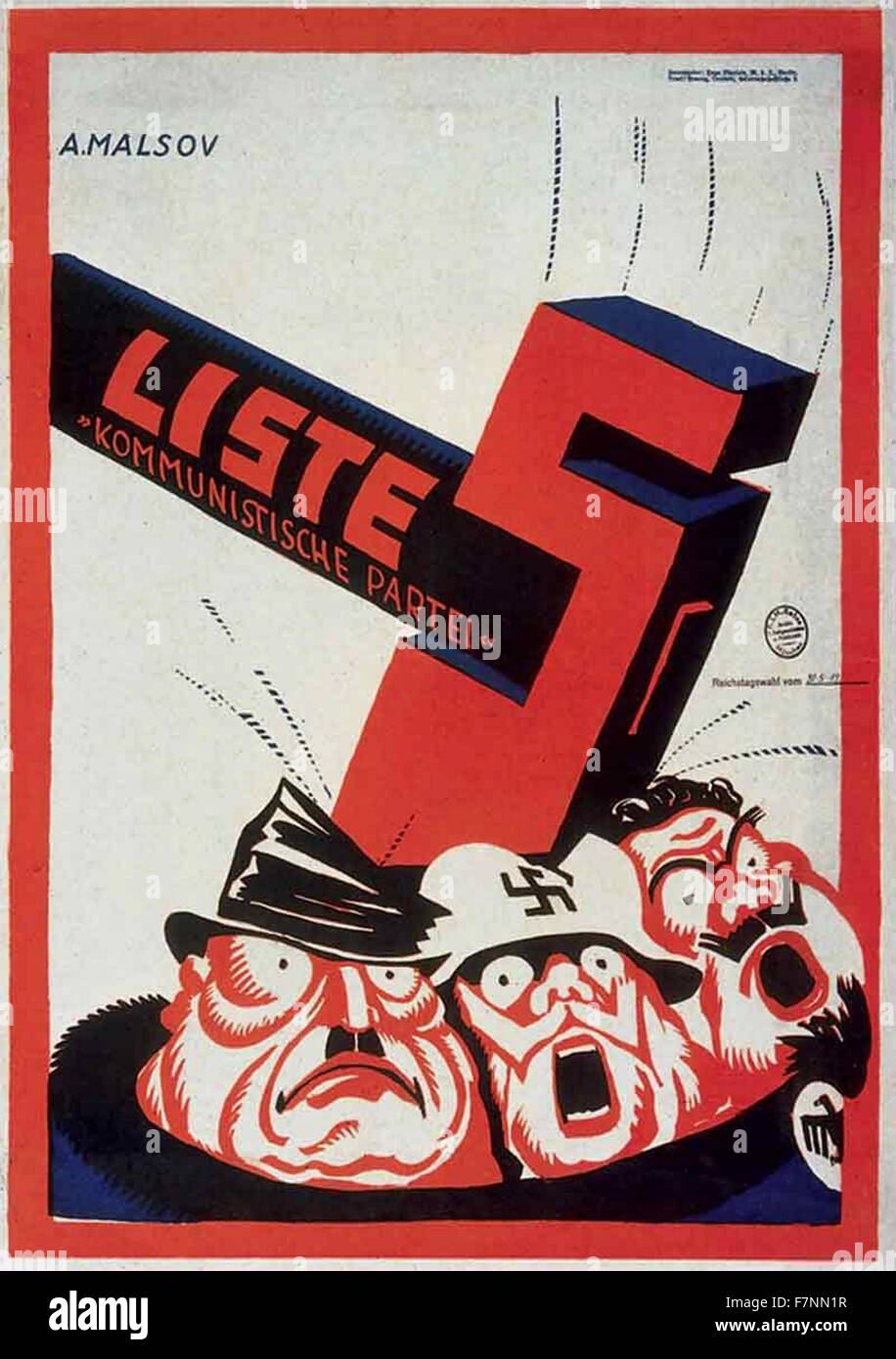 le KPD spartakiste résista contre le nazisme