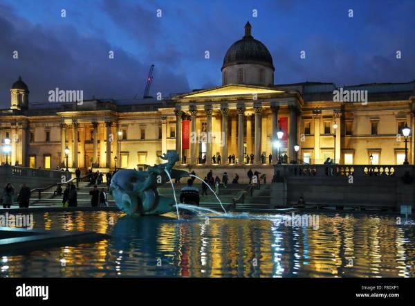 National Night Trafalgar Square London