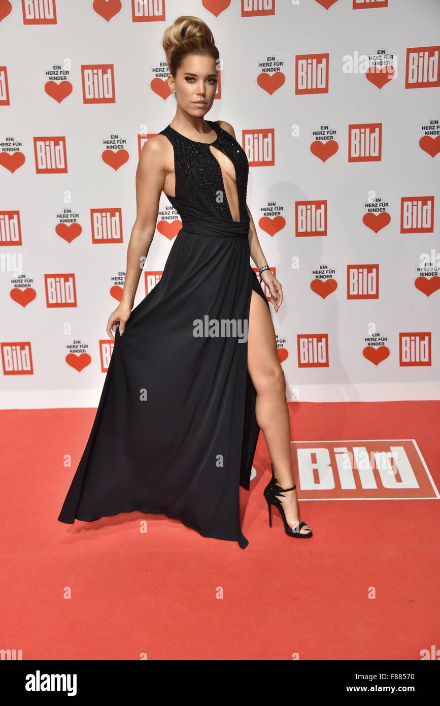 Roter Teppich 2015 Berlin Germany 06th Dec 2015 Sylvie Meis Ankunft Roter