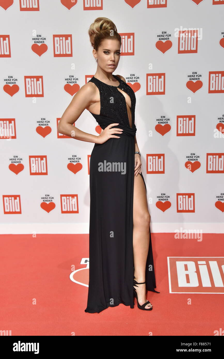 Roter Teppich Gala Berlin Germany 06th Dec 2015 Sylvie Meis Ankunft Roter