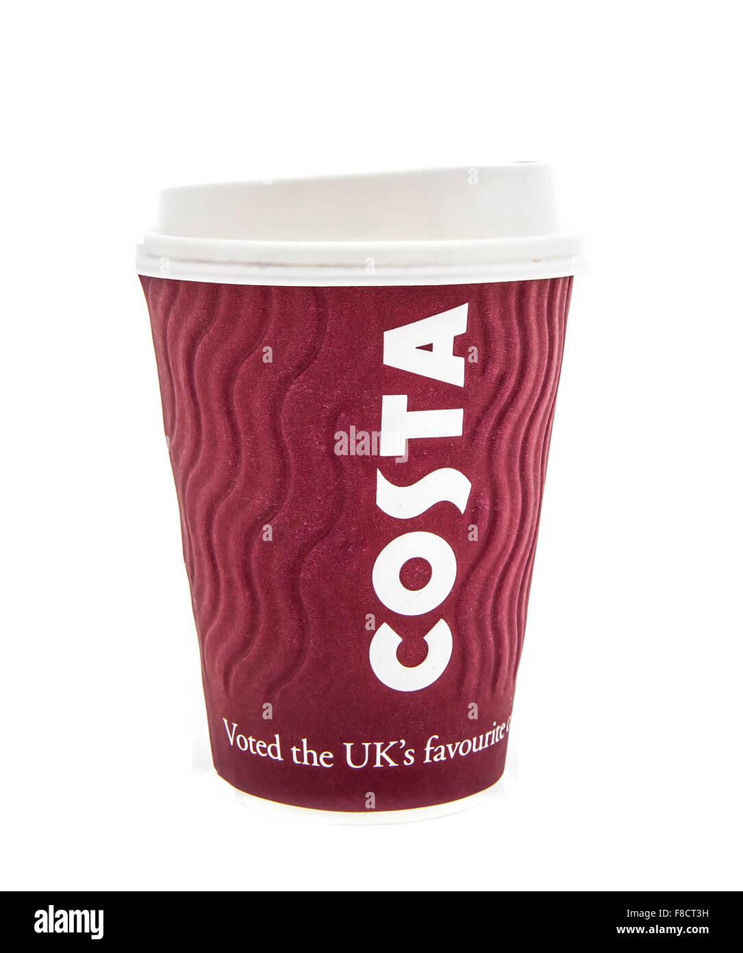 costa coffee logo stock