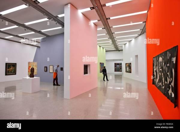 Contemporary Art Museums Inside