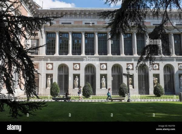 Prado Museum Madrid Stock & - Alamy