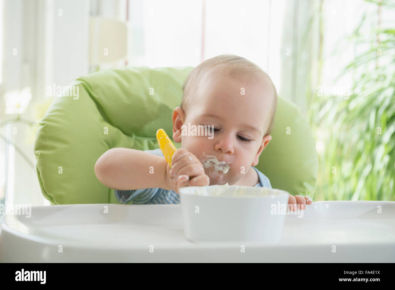 Baby Food Chair Messy Room Boy Stock Photos And Messy Room Boy Stock Images