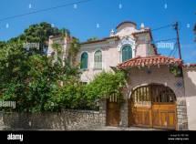 House Santa Teresa Rio De Janeiro Brazil Stock