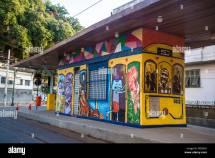 Tram Station Largo Curvelo Santa Teresa Rio De