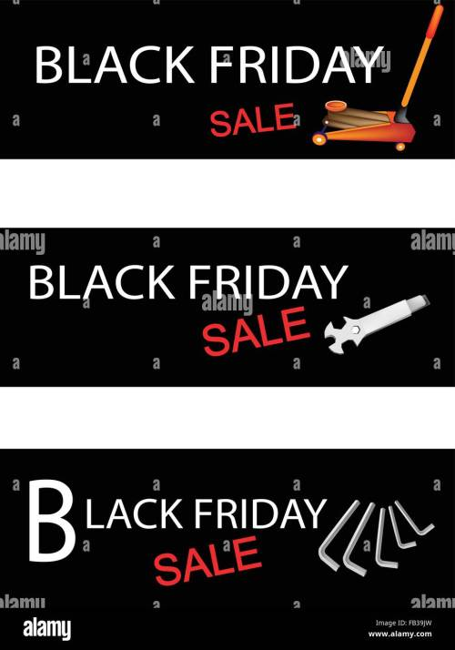 small resolution of illustration of car jack and repair tools kits on black friday shopping labels for start christmas shopping season