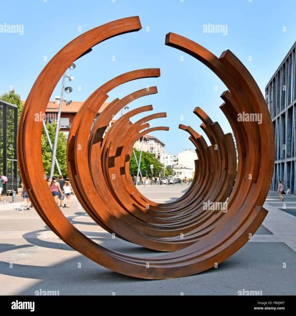Modern Steel Sculpture French