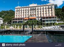 Grand Hotel Tremezzo Lake Como Stock &