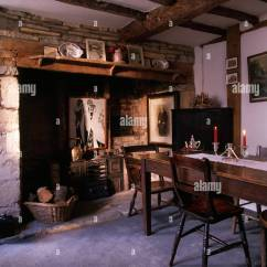 Country Living Rooms With Fireplaces Used Room Sets For Sale Inglenook Fireplace In Old Fashioned Victorian Style ...