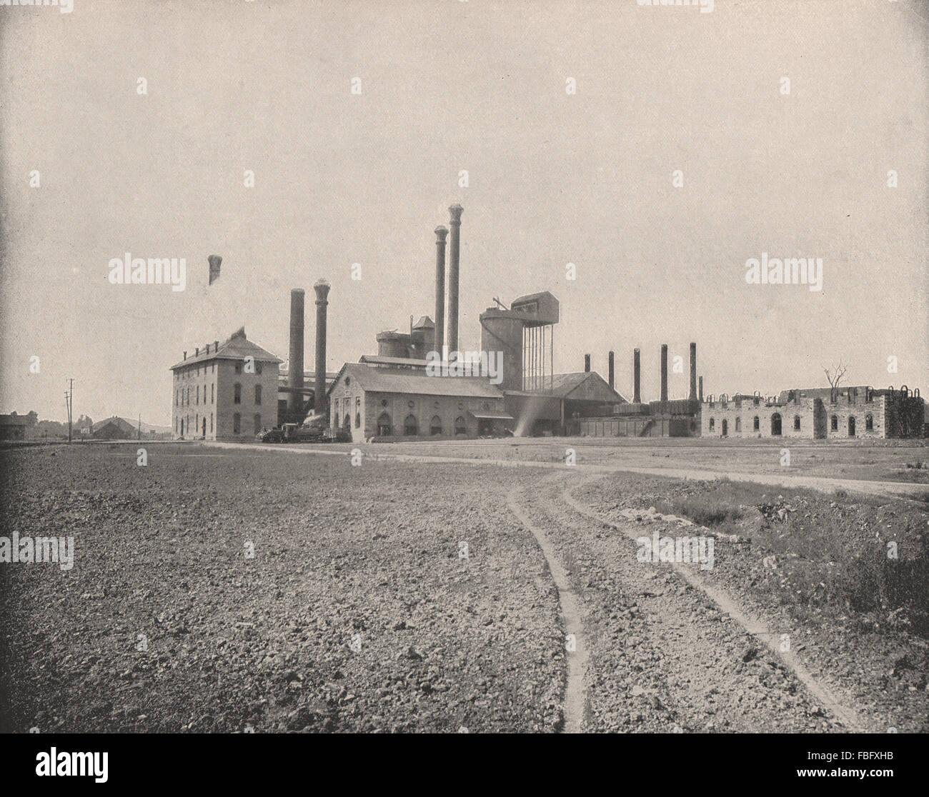 The Colebrook Furnace, Lebanon, Pennsylvania. Foundry