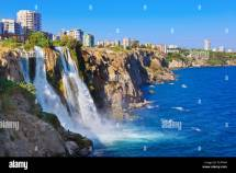 Antalya Turkey Waterfall