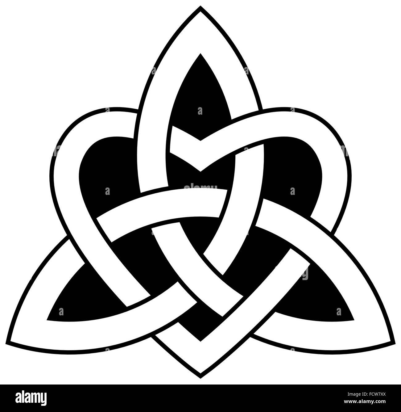 Holy Trinity Symbol Celtic