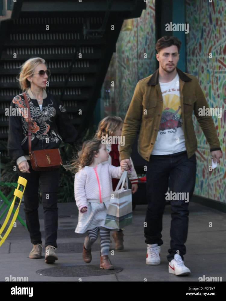 Aaron and Sam Taylor-Johnson take their daughter's Romy ...