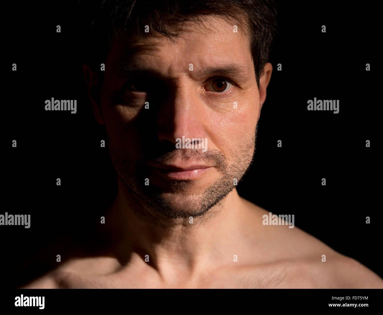 Half Face In Shadow Stock Photos Amp Half Face In Shadow