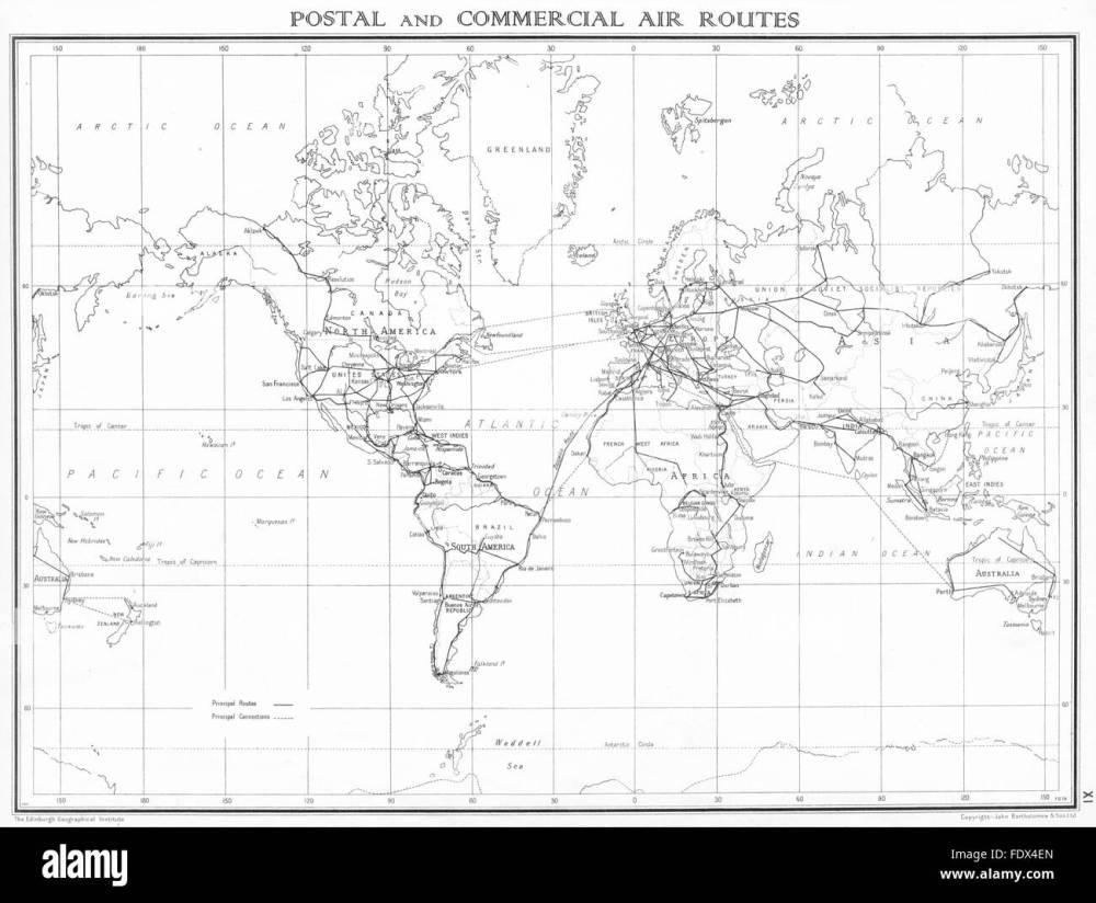 medium resolution of art international radio telephone service 1938 old vintage map plan chart world