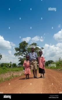 School Children Uniform Walking Stock &