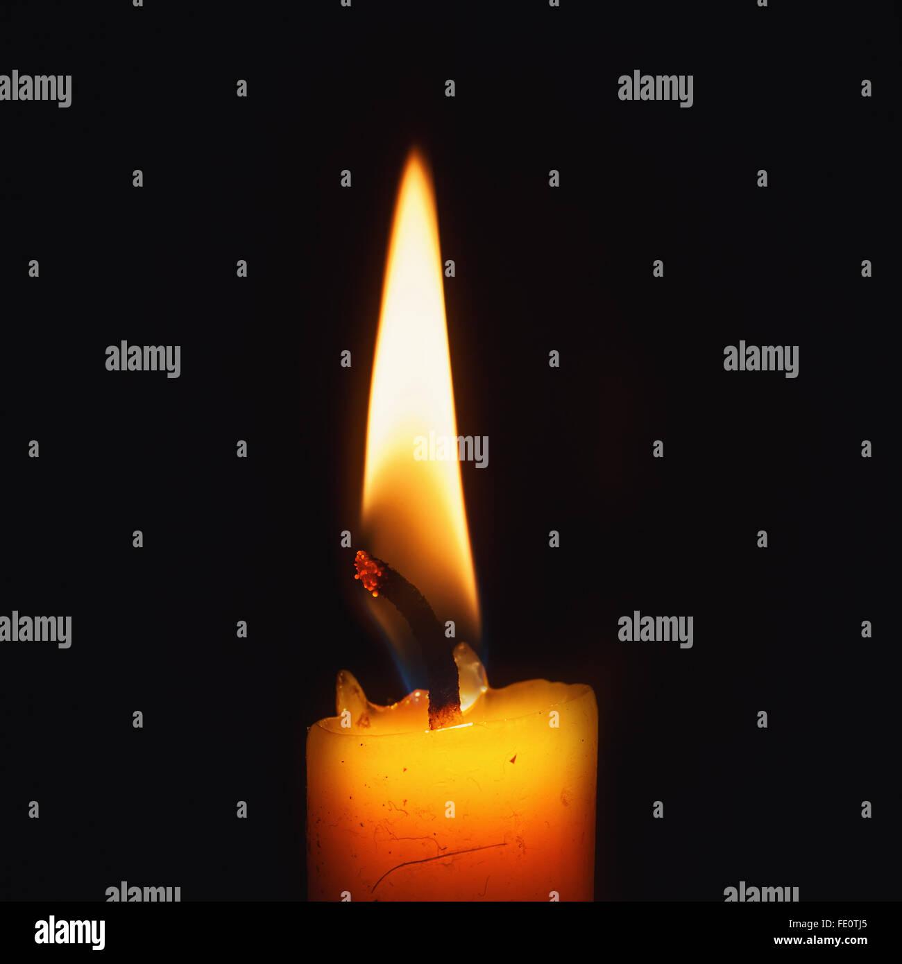 waxy candle stock photos