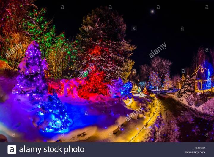 Hudson Gardens Lights