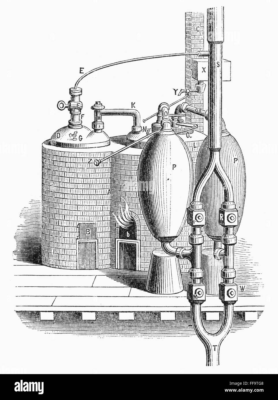 S Images Of Thomas Savery Steam Engine Diagram