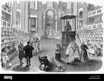 Image result for 1870- Papal Infallibility is proclaimed by Pius IX