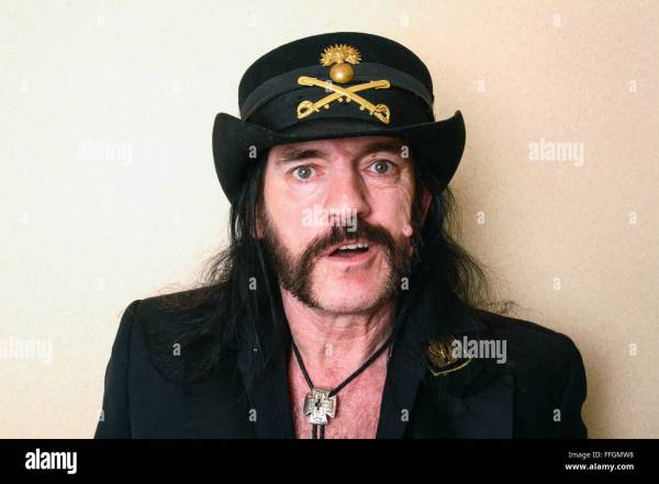 Lemmy Kilmister Stock - Year of Clean Water