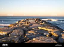 Rock Jetty Stock & - Alamy