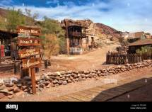 Ghost Town Of Calico Village Las Vegas In Nevada; Usa