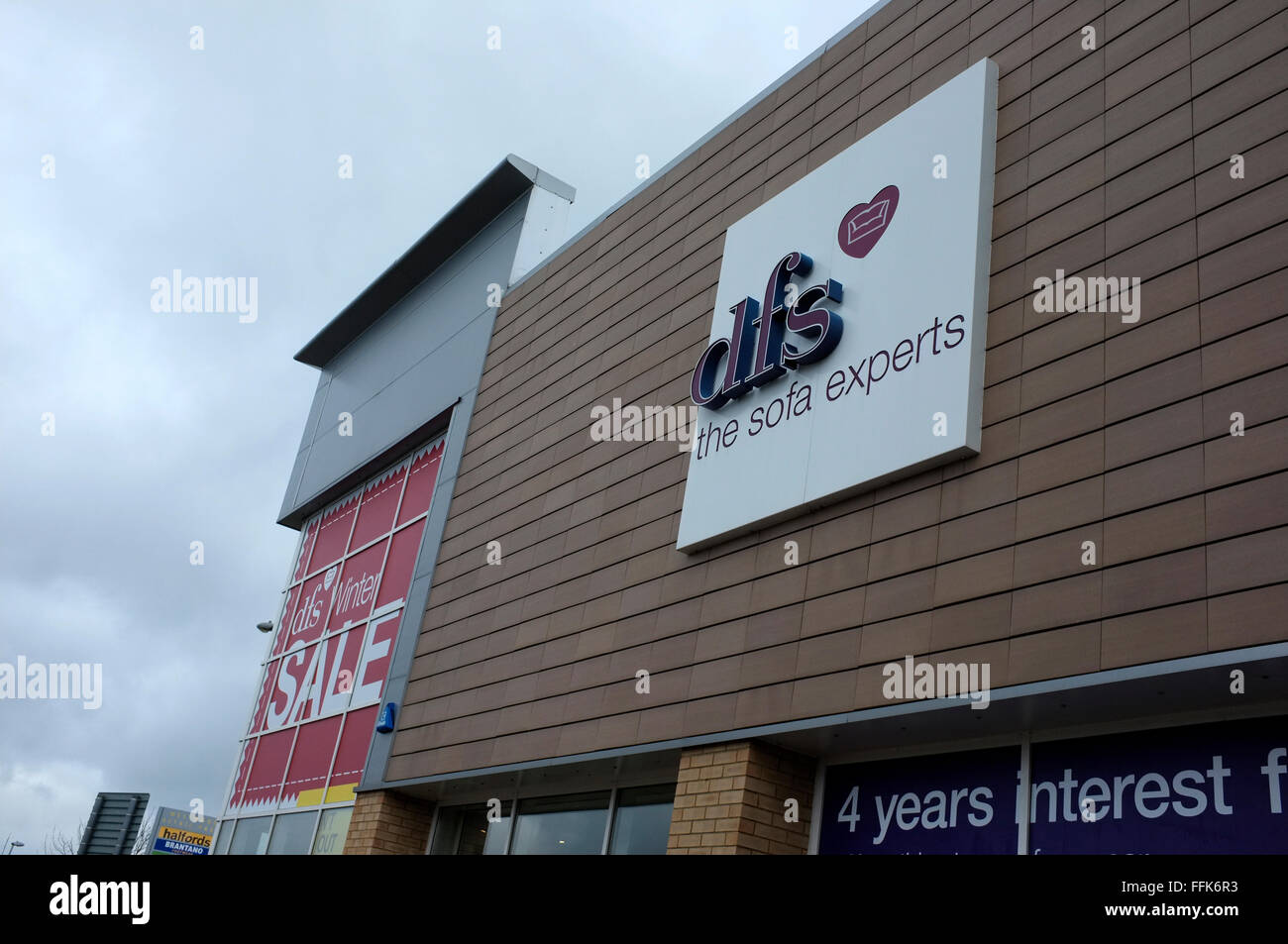 Dfs The Sofa Experts Store In Westwood Cross Thanet West Kent Uk Stock Photo Alamy