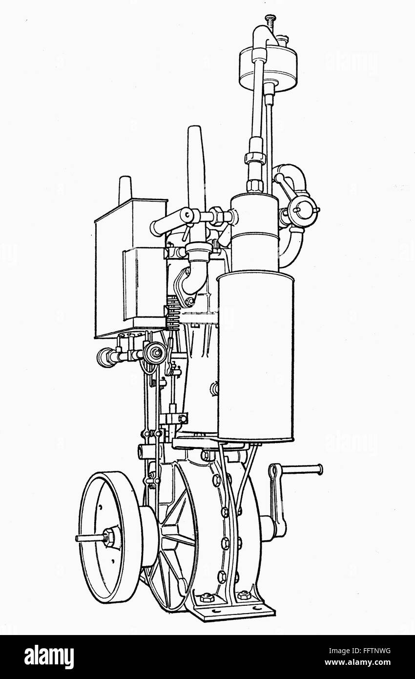 hight resolution of  nwilhelm maybach s v twin engine designed in 1889 for daimler motor vehicles