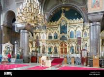 Altar Of Uspenski Orthodox Cathedral Uspenskin