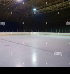 empty ice rink hockey arena stock image [ 1300 x 957 Pixel ]