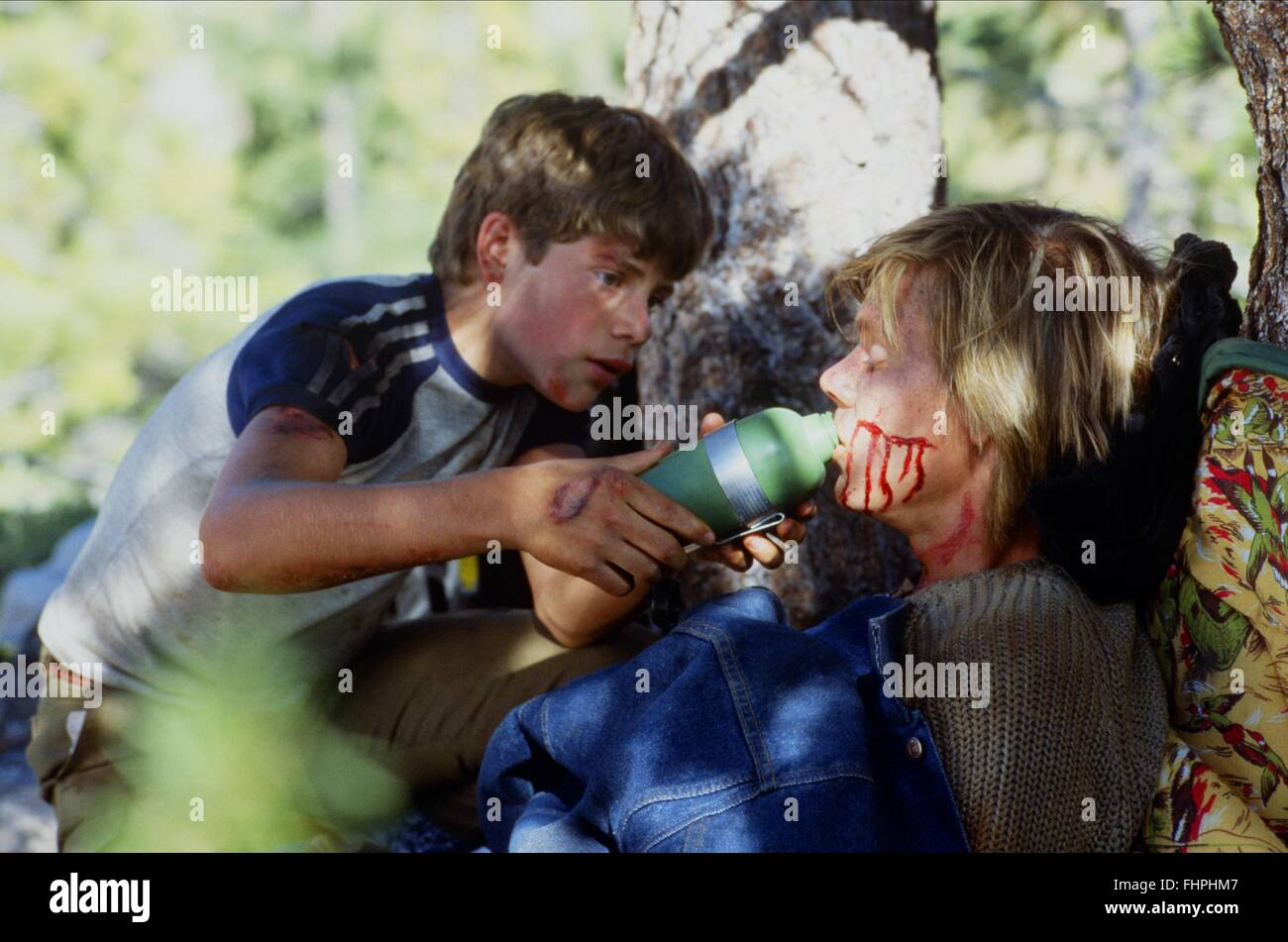 SEAN ASTIN  KEVIN BACON WHITE WATER SUMMER 1987 Stock
