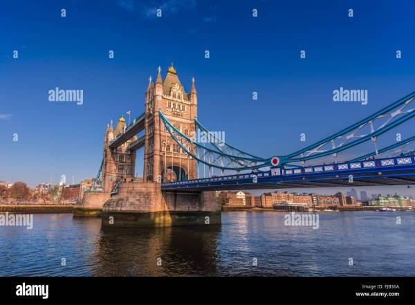 Tower Bridge London Summer Stock &