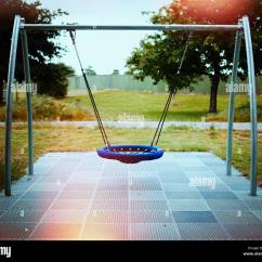 Swing Seat Nz Heavy Duty Gaming Chair In Adventure Playground New Zealand Stock Photo