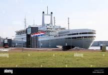 Hotel & Museum Ship . Rotterdam Ocean Liner