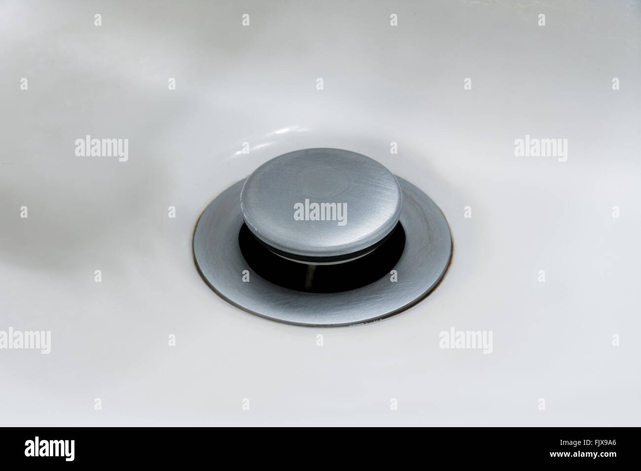 kitchen sink drain stopper hutch stock photos and images alamy