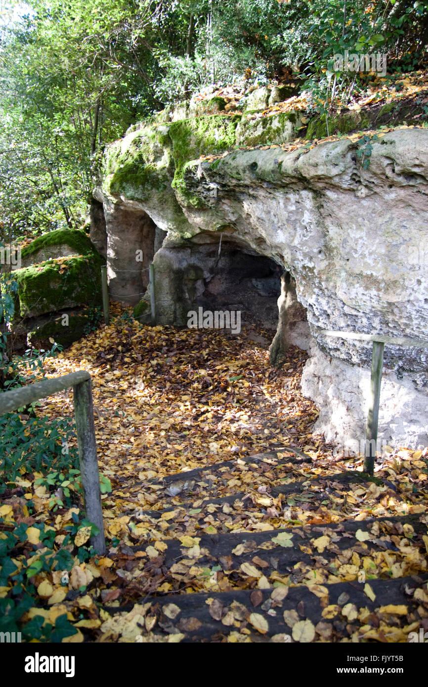 Grotte De Pair-non-pair : grotte, pair-non-pair, France,, Aquitaine,, Gironde,, Prignac-et-Marcamps,, Grotte, Stock, Photo, Alamy