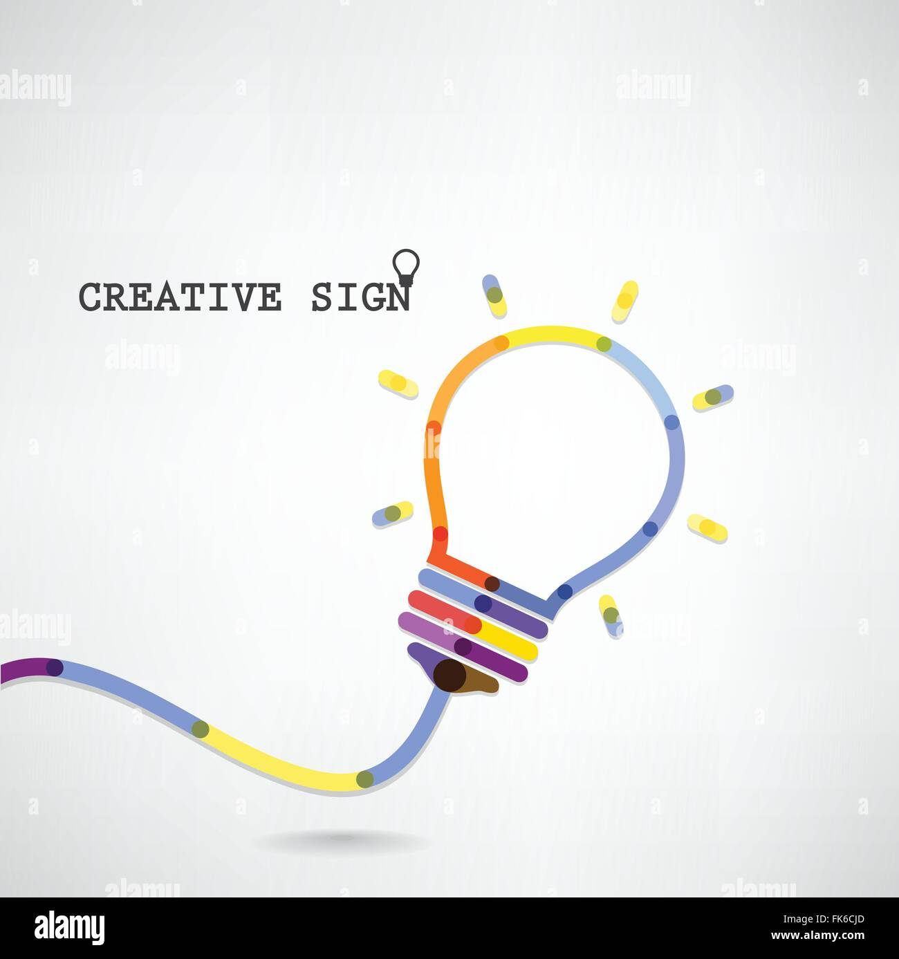 hight resolution of creative light bulb idea concept background design for poster flyer cover brochure business idea abstract background vector i